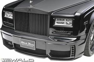 【M's】Rolls Royce PHANTOM シリーズ2 (2012y-) WALD Black Bison フロントバンパースポイラー (LED付)//FRP エアロ ヴァルド バルド
