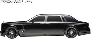 【M's】Rolls-Royce ファントム (2003y-2008y) WALD Black Bison サイドスパッツ 左右//FRP製 ヴァルド バルド エアロ ロールス