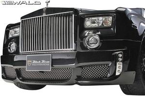 【M's】ロールスロイス ファントム (2003y-2008y) WALD Black Bison フロントバンパースポイラー//FRP製 ヴァルド バルド エアロ