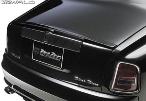 【M's】 Rolls Royce ファントム (2003y-2008y) WALD Black Bison トランクスポイラー//ウイング FRP ヴァルド バルド エアロ ロールス