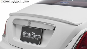 【M's】ロールスロイス レイス (2013y-) WALD Black Bison トランクスポイラー//FRP ヴァルド バルド エアロ ウイング 2ドアクーペ