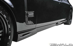 【M's】ロールスロイス ファントム (2003y-2008y) WALD Black Bison サイドスパッツ 左右//FRP製 ヴァルド バルド エアロ ロールス