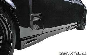 【M's】Rolls Royce PHANTOM (2003y-2008y) WALD Black Bison サイドスパッツ 左右//FRP製 ヴァルド バルド エアロ ロールス
