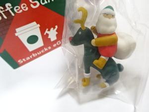 スターバックス コーヒーサンタ スタバ ホリデー 2019:トナカイサンタ:COFFEE SANTA ノベルティ 非売品 2019 e-ギフト クリスマス