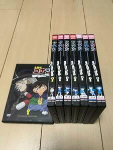 【名探偵コナン「黒ずくめの組織とFBI」】File 1~8 DVD レンタル落ち品 青山剛昌