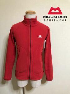 MOUNTAIN EQUIPMENT マウンテンイクイップメント フリース ジャケット アウトドア 登山 防寒 サイズM 長袖 レッド 413114 POLARTEC