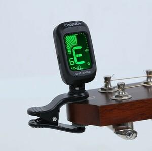 チューナー フォーク アコースティック ギター バイオリン ウクレレ ベース 電子チューニング弦楽器 アクセサリー NSX765 S440