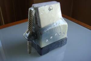 【未使用】陶器製 トースター型 メモ用紙セット ペン付き 新品 未開封 レターパックプラス520円発送可 引取り可