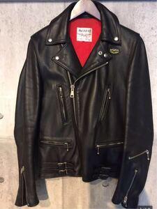 廃盤 lewis leathers ルイスレザー ライトニング 391T タイトフィット 34 メンズ カウハイド レザーライダースジャケット ブラック AVIAKIT