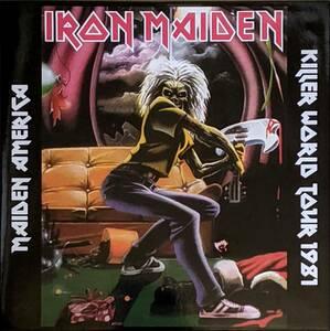 Iron Maiden - Maiden America - Killer World Tour 1981 500枚限定アナログ・レコード