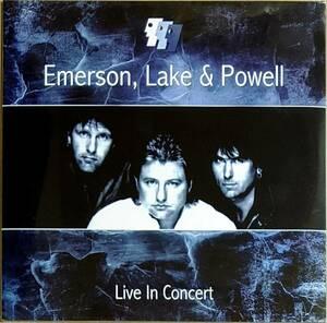 Emerson, Lake & Powell - Live In Concert ボーナス・トラック3曲収録1,000枚限定二枚組アナログ・レコード