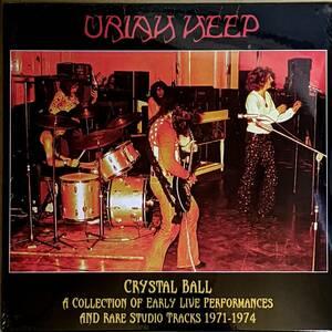 Uriah Heep - Crystal Ball-A Collection Of Early Live Performances & Rare Studio Tracks1971-74 500枚限定二枚組アナログ・レコード