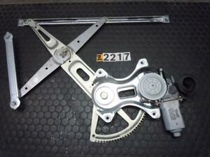 トヨタ イスト NCP65 右前 ドアレギュレーター レギュレター ドアモーター No.Z2217