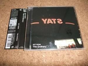 [CD][送100円~] NOT WONK THIS ORDINARY レンタル品