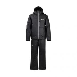 半額即決 完全防水、汚れに強い PUウォームスーツ 黒 LLサイズ 新品