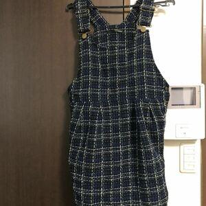 サロペット  ジャンパースカート ワンピース オーバーオール 美品
