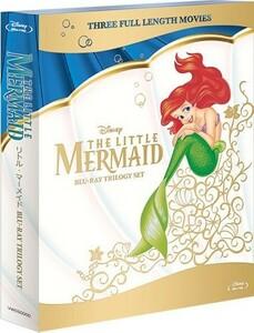 廃盤 ディズニー リトル・マーメイド ブルーレイトリロジーセット Blu-ray 新品