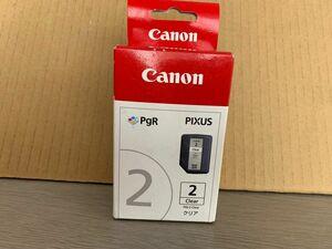 未使用未開封★CANON PIXUS 新品純正 キャノン インクカートリッジPGI-2 Clear ★期限切れ2019.05★C12276