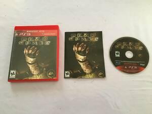 プレイステーション3 デッドスペース 北米版 動作品 盤面綺麗です。 PS3
