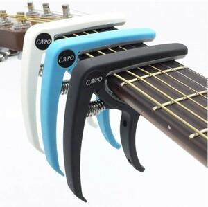 プラスチック ギター カポ 6弦 アコースティック クラシック 電気ギター チューニング クランプ 楽器アクセサリー ギターカポ