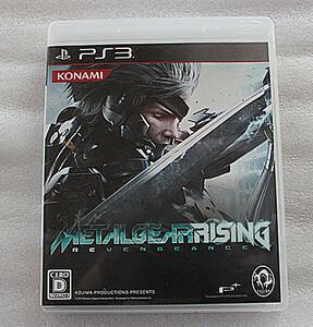 293美品PS3ソフト メタルギア ライジングリベンジェンス★メタルギア ソリッド ソーシャル・オプス限定カード付き