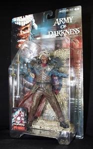 ★新品 マクファーレントイズ ムービーマニアックス4 ARMY OF DARKNESS 死霊のはらわた(Evil Ash イビル・アッシュ)