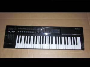 Roland A-500 PRO 極上美品! 49鍵盤! 高級機種! MIDI KEYBOARD キーボード コントローラー DTM ローランド シンセサイザー SYNTHESIZER