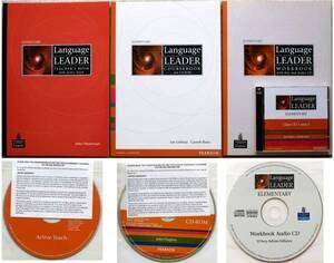 Language Leader 英会話テキストセット 1CD-ROM&4CDs 初級