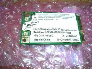 Intel PRO/Wireless 3945ABG 無線LANカード