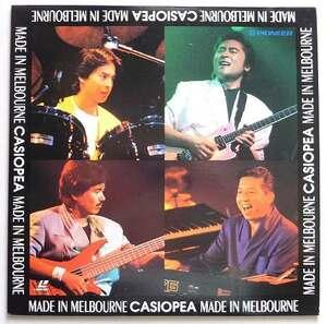 カシオペア CASIOPEA「MADE IN MELBOURNE」LIVE [LD]