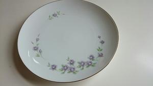 ★ノリタケ★Noritake★大皿1枚★紫花★昭和レトロ★食器★キッチン