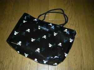 mastermind JAPAN マスターマインド スカルドット柄 トートバッグ ビーチ / 鞄カバン スケルトン