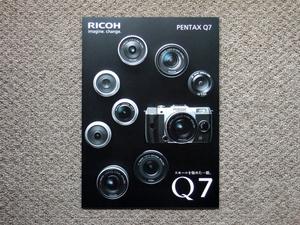 [ catalog only ]PENTAX Q7 2014.10 inspection RICOH Q10 Pentax