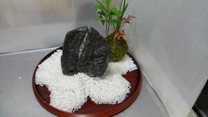 ◆黒石 庭石 花壇 鑑賞石 盆石 水石◆