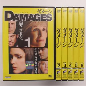 DVDセット ダメージ シーズン1 【全6巻】