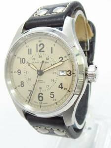 ★/【良品】 ハミルトン カーキフィールド H705950 自動巻き メンズ腕時計 ■管理番号11887-160905-25-030