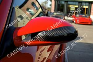 *PORSCHE 997 987 carbon mirror cover { left right one set }{ paste type }