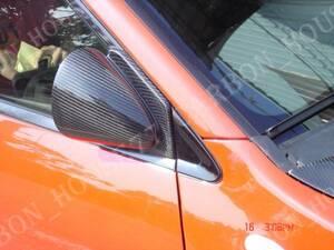 ★MITSUBISHI ランエボ 7/8/9/CT9A カーボン ドアミラー RA型《左右ワンセット》《手動式》《交換タイプ》