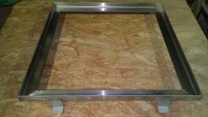 ステンレス床用 排水・換気枠 外外 405mm角 未使用在庫品 金物屋在庫