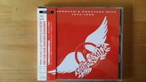 ☆即決帯付良品エアロ・スミス:グレイテスト・ヒッツ1973-1988CD