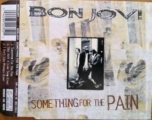 ☆即決!UK盤 ボン・ジョヴィ:Something For The Pain MaxiCD