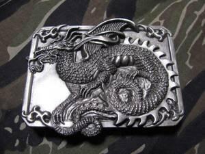 ★ドラゴン辰龍竜バックル米国製1984年