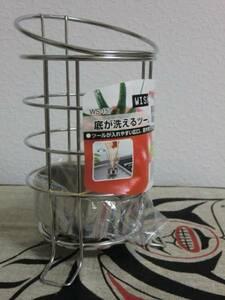 新品18-8高級ステンレス日本製キッチンツールスタンド♪定形外郵便やおてがる版ゆうパック対応♪