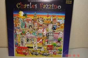 未開封チャールズ・ファジーノ2016年カレンダー