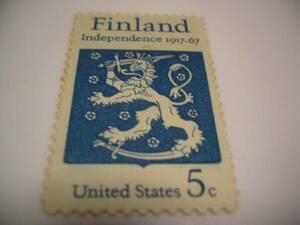 海外・外国の切手 Finland フィンランド United States