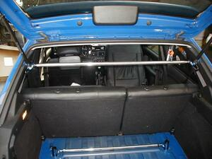 Peugeot 106( Saxo common ) exclusive use rear pillar bar ( new goods boxed, including tax )