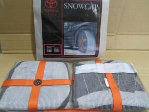 unused TOYOTA original SNOW CAP 185/65R15 and so on!