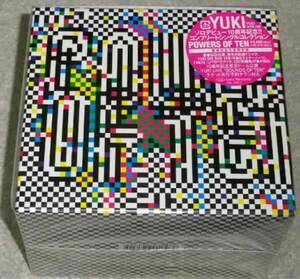 YUKI / POWERS OF TEN 完全生産限定盤 2CD+DVD Tシャツ封入
