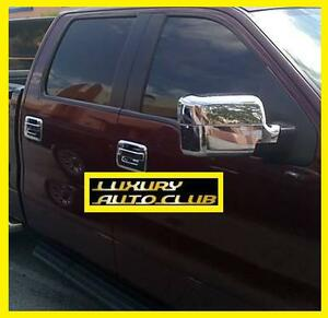 2004-2008 FORD Ford F150 chrome mirror cover set plating cover trim XLT body parts aero door mirror
