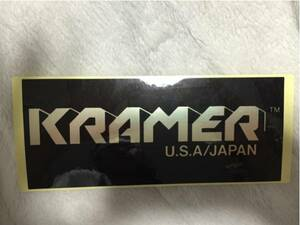 クレイマー KRAMER USA JAPAN ステッカー 黒